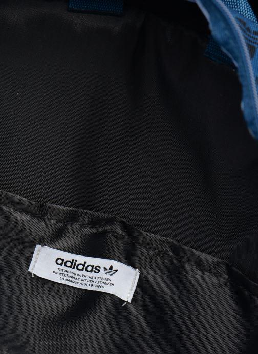 Rucksacks adidas originals BP CL M AC GR Blue back view