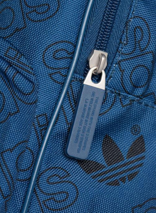 Sacs à dos adidas originals BP CL M AC GR Bleu vue gauche