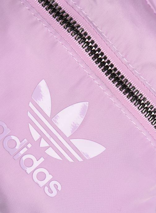 Zaini adidas originals BP MINI Rosa immagine sinistra