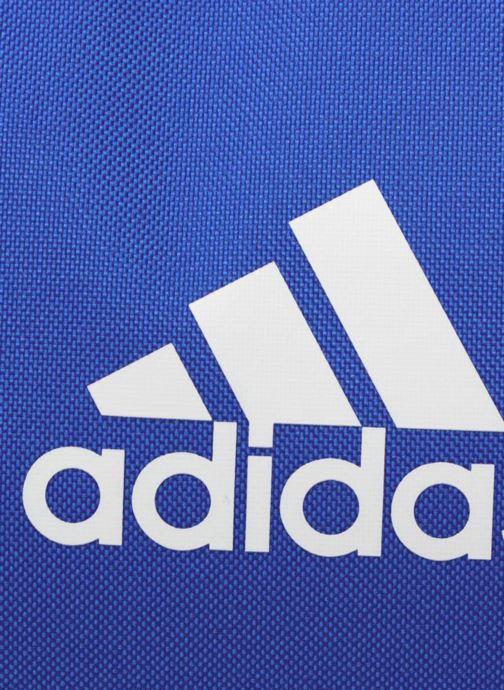 Sacs de sport adidas performance TIRO TB S Bleu vue gauche