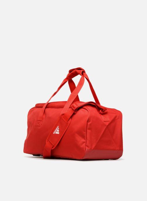 Bolsas de deporte adidas performance TIRO TB S Rojo vista lateral derecha