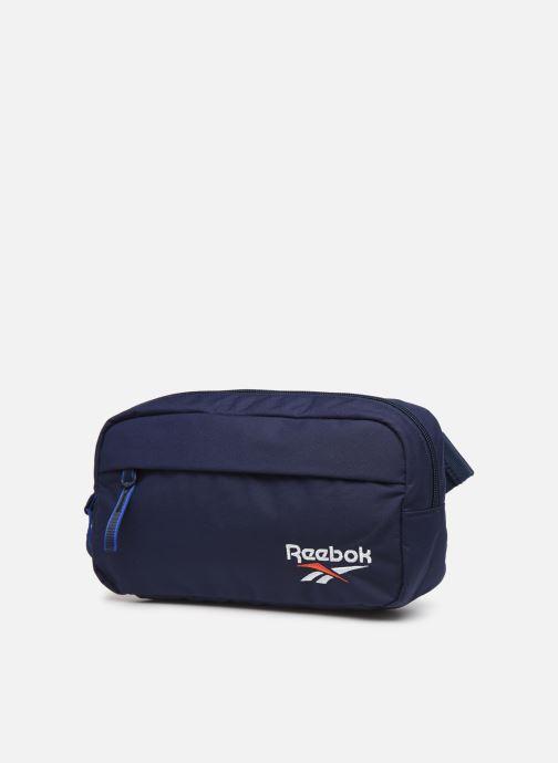 Petite Maroquinerie Reebok CL FO Waistbag Bleu vue portées chaussures