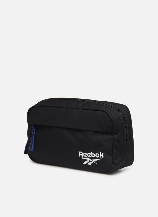 Petite Maroquinerie Reebok CL FO Waistbag Noir vue portées chaussures