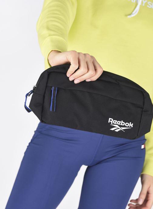 Sacs à main Reebok CL FO Waistbag Noir vue bas / vue portée sac