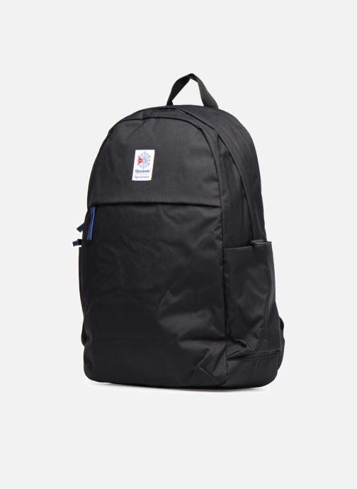 Zaini Reebok CL FO JWF Backpack Nero modello indossato