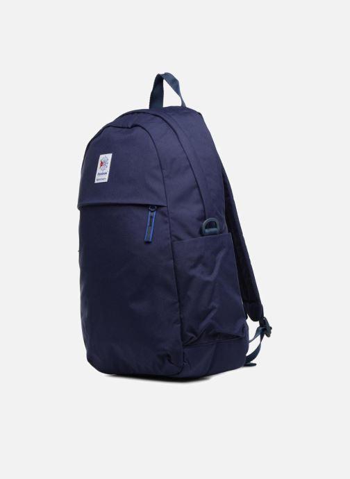 Sacs à dos Reebok CL FO JWF Backpack Bleu vue portées chaussures