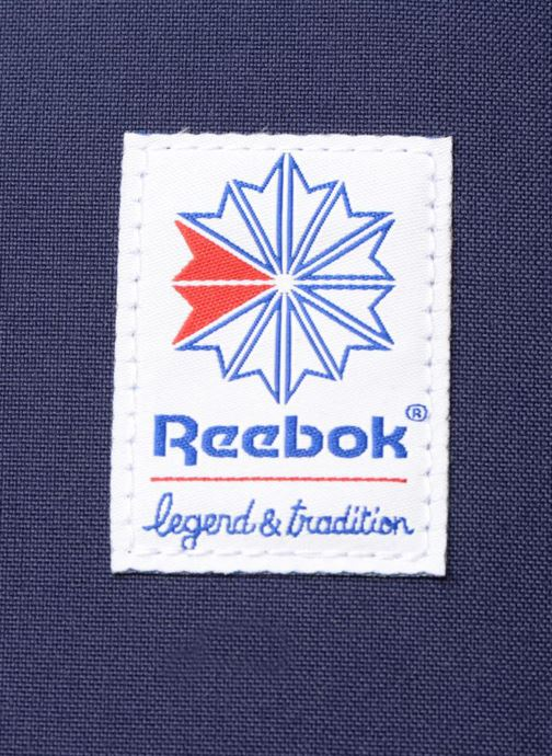 Sacs à dos Reebok CL FO JWF Backpack Bleu vue gauche