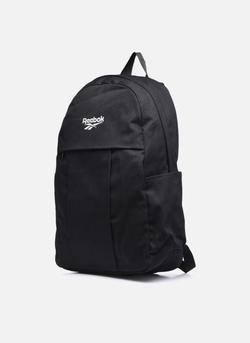 Sacs à dos Reebok CL FO JWF Backpack Noir vue portées chaussures