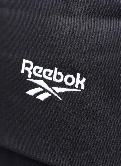 Mochilas Reebok CL FO JWF Backpack Negro vista lateral izquierda