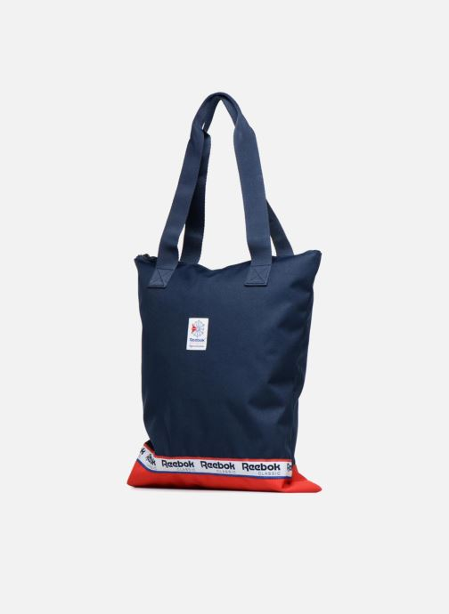 Handtaschen Reebok CL Womens Graphic t blau schuhe getragen