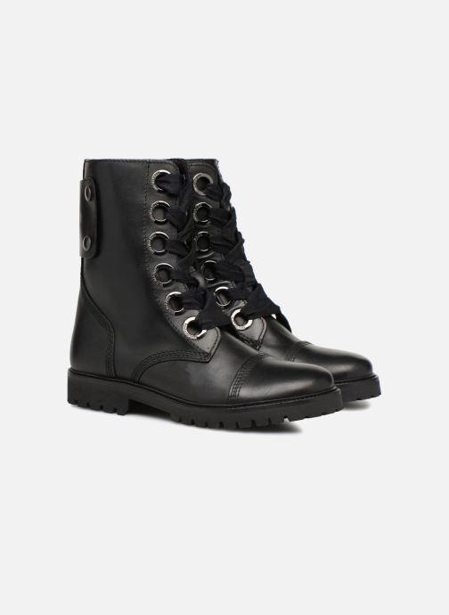 Bottines et boots Zadig & Voltaire Joe Noir vue 3/4