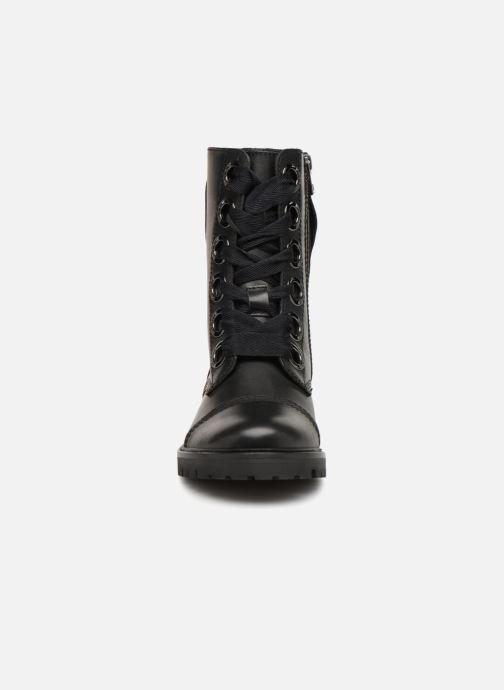 Bottines et boots Zadig & Voltaire Joe Noir vue portées chaussures