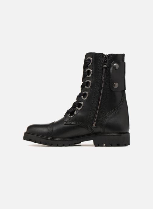Bottines et boots Zadig & Voltaire Joe Noir vue face