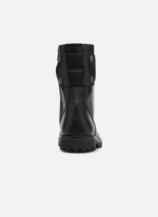Bottines et boots Zadig & Voltaire Joe Noir vue droite