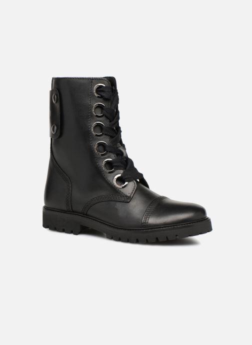 Bottines et boots Zadig & Voltaire Joe Noir vue détail/paire