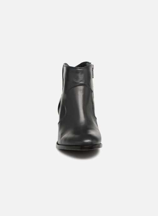 Ankelstøvler Zadig & Voltaire Molly Heel Grå se skoene på