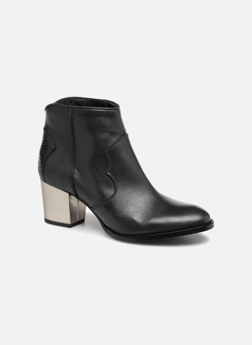 Ankelstøvler Zadig & Voltaire Molly Heel Grå detaljeret billede af skoene