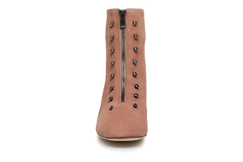 Stiefeletten & Boots An Hour And A Shower Gig rosa schuhe getragen