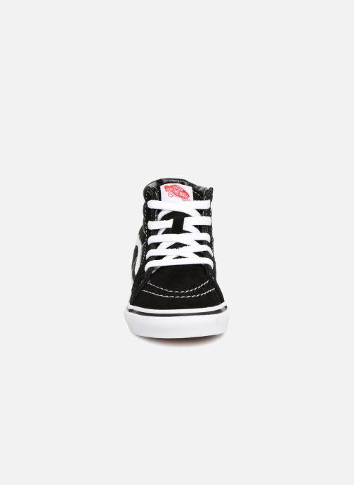 Sneaker Vans TD SK8-Hi schwarz schuhe getragen