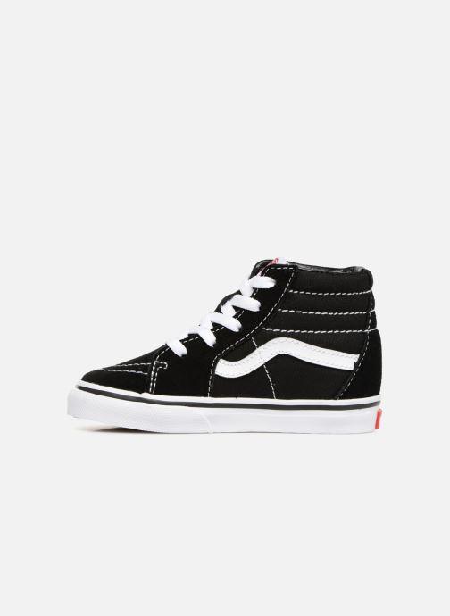 Sneaker Vans TD SK8-Hi schwarz ansicht von vorne