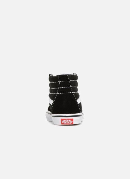 Sneaker Vans TD SK8-Hi schwarz ansicht von rechts