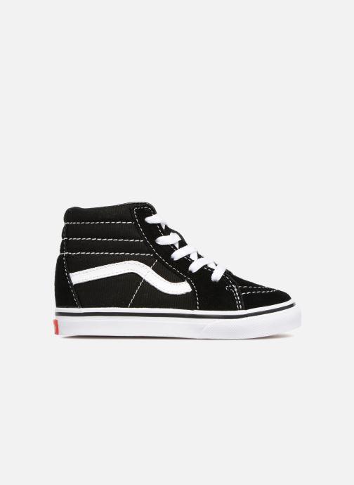 Sneaker Vans TD SK8-Hi schwarz ansicht von hinten