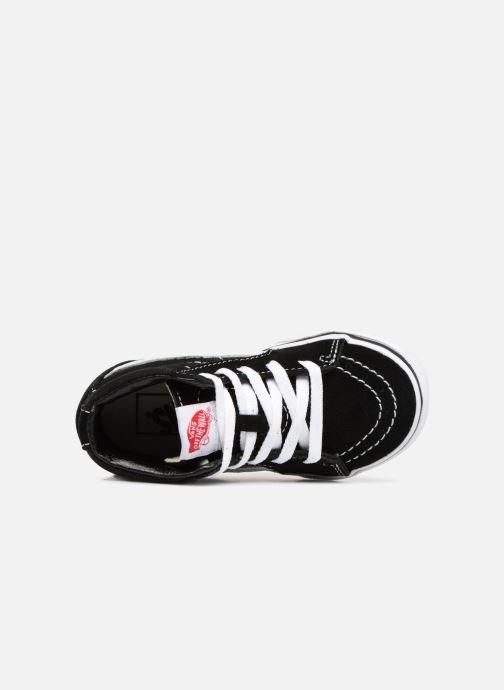 Sneaker Vans TD SK8-Hi schwarz ansicht von links