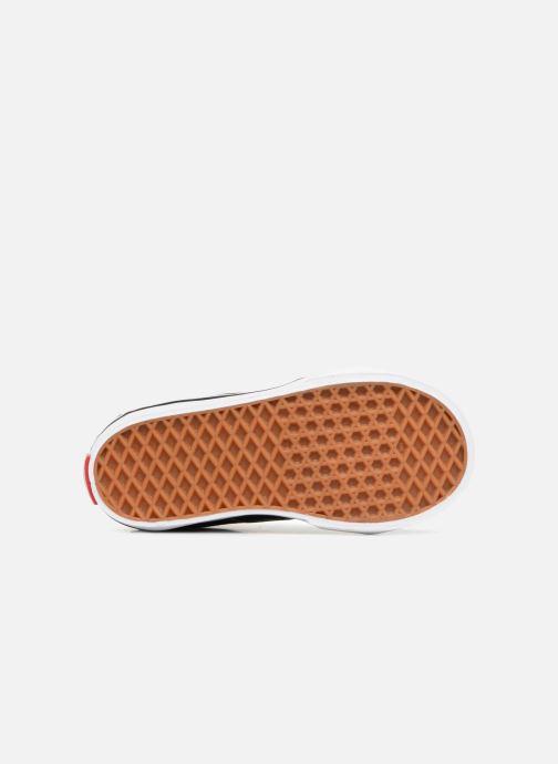 Sneaker Vans TD SK8-Hi schwarz ansicht von oben