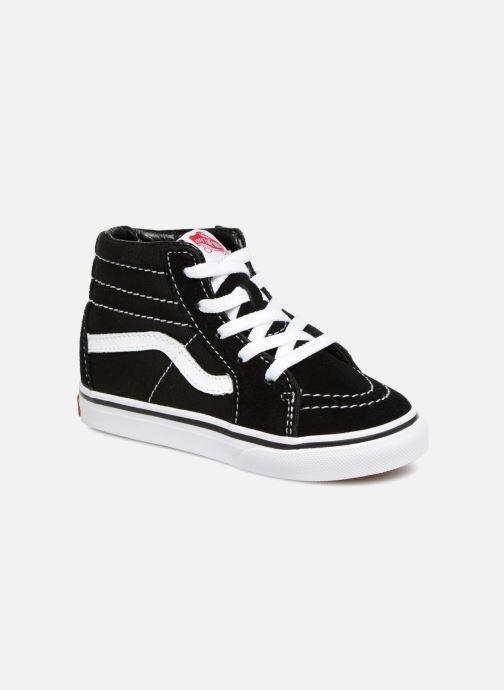 Sneakers Vans TD SK8-Hi Zwart detail