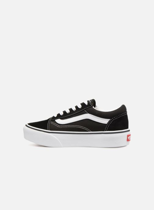 Baskets Vans Old Skool Platform E Noir vue face