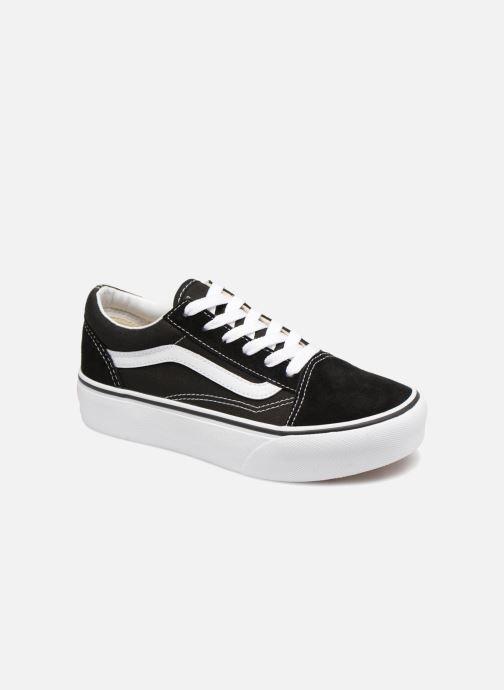 Sneakers Vans Old Skool Platform E Zwart detail