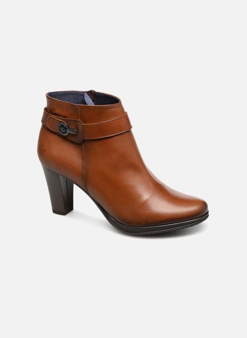 Boots en enkellaarsjes Dorking Luna 7612 Bruin detail
