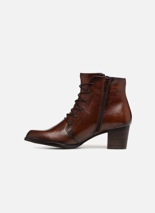 Bottines et boots Dorking Zuma 7624 Marron vue face