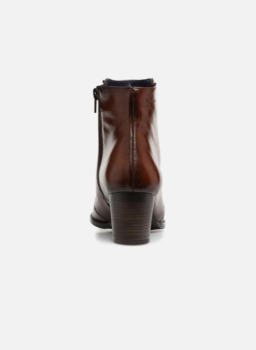 Bottines et boots Dorking Zuma 7624 Marron vue droite