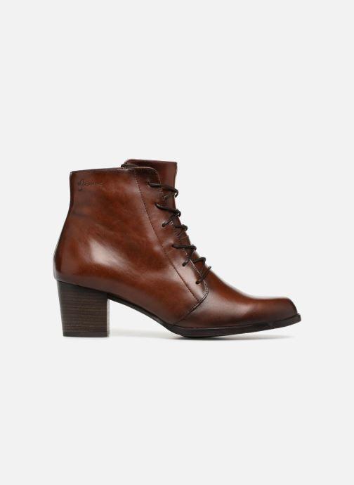 Bottines et boots Dorking Zuma 7624 Marron vue derrière