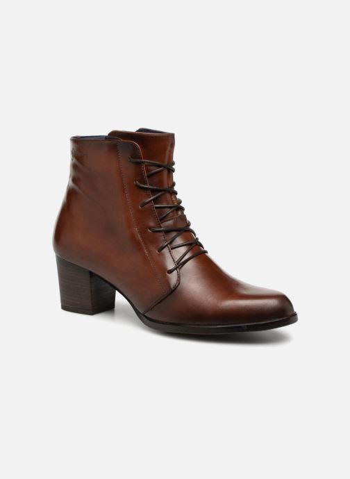 Bottines et boots Dorking Zuma 7624 Marron vue détail/paire