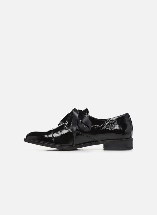 Zapatos con cordones Dorking Vesna 7631 Negro vista de frente