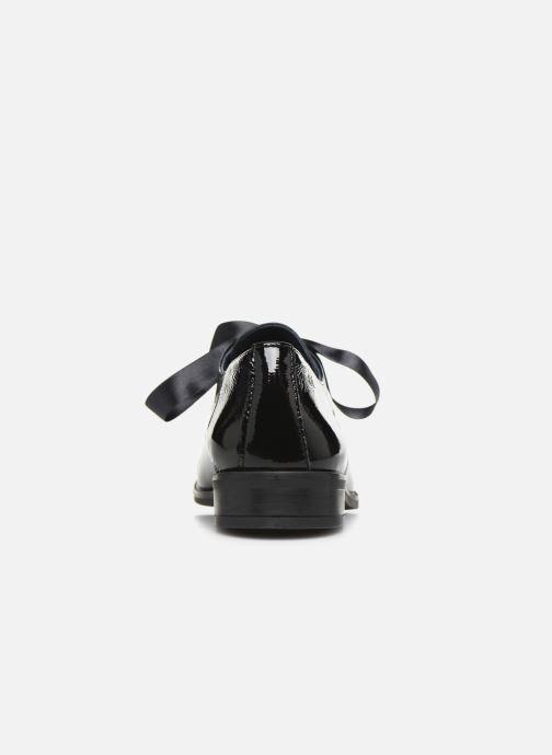 Zapatos con cordones Dorking Vesna 7631 Negro vista lateral derecha