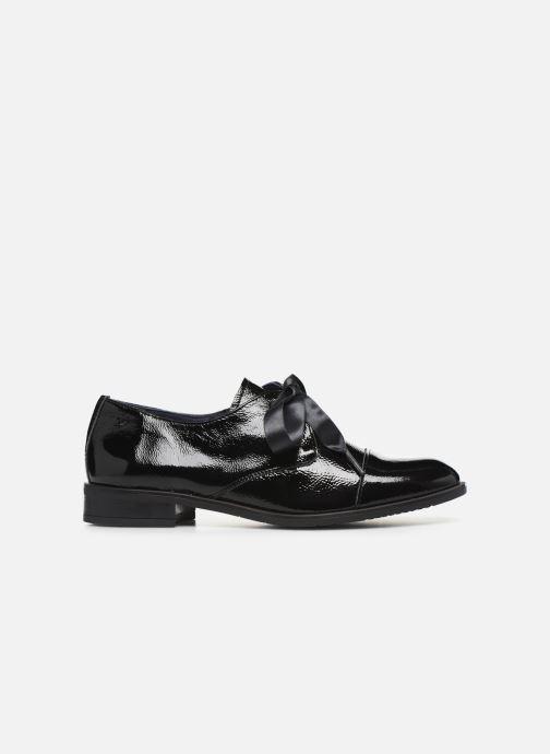 Zapatos con cordones Dorking Vesna 7631 Negro vistra trasera