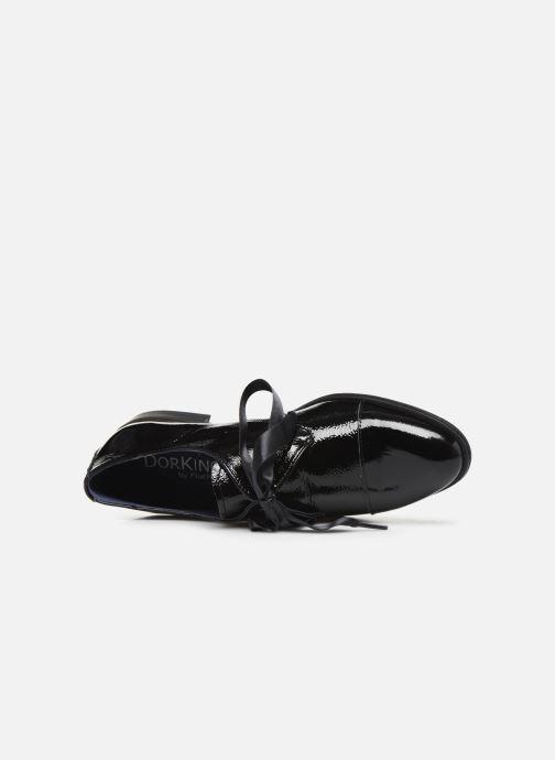 Zapatos con cordones Dorking Vesna 7631 Negro vista lateral izquierda