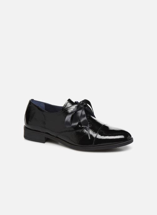 Zapatos con cordones Dorking Vesna 7631 Negro vista de detalle / par