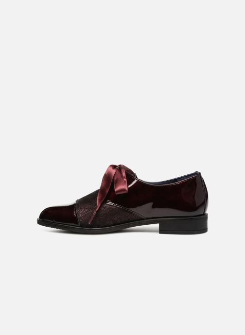 Chaussures à lacets Dorking Vesna 7631 Bordeaux vue face