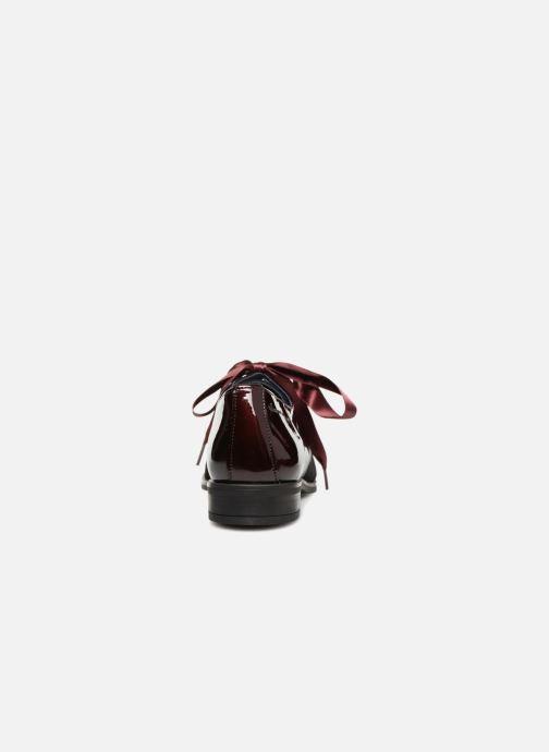 Chaussures à lacets Dorking Vesna 7631 Bordeaux vue droite