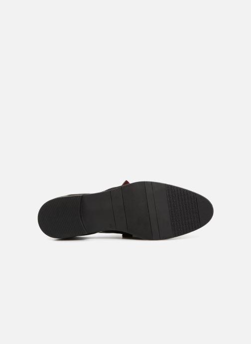 Chaussures à lacets Dorking Vesna 7631 Bordeaux vue haut