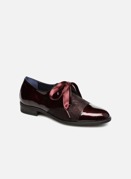 Chaussures à lacets Dorking Vesna 7631 Bordeaux vue détail/paire
