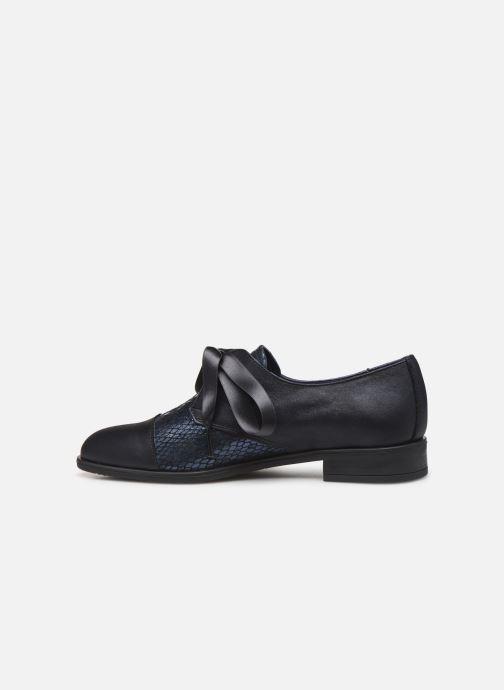 Chaussures à lacets Dorking Vesna 7631 Bleu vue face