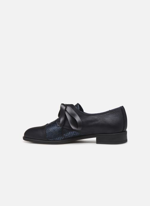 Zapatos con cordones Dorking Vesna 7631 Azul vista de frente