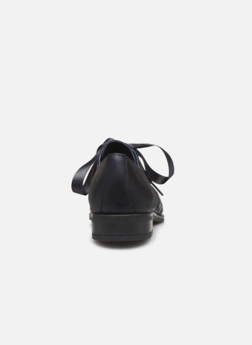 Zapatos con cordones Dorking Vesna 7631 Azul vista lateral derecha