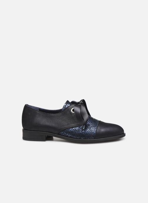 Zapatos con cordones Dorking Vesna 7631 Azul vistra trasera