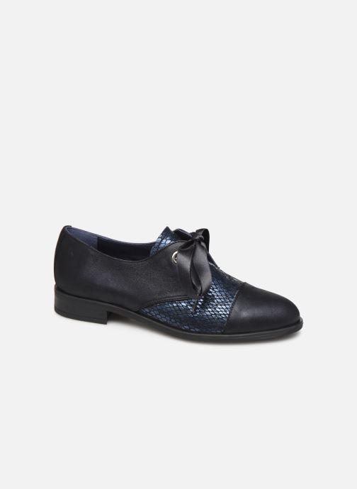 Zapatos con cordones Dorking Vesna 7631 Azul vista de detalle / par